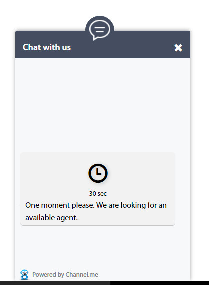 New Visitor Chat Request